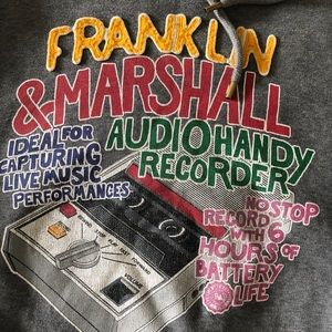Franklin & Marshall Mens S Hoodie Pullover  Rare